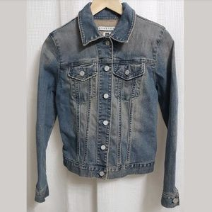 Gap Denim Distressed Jacket sz MEDIUM Women's